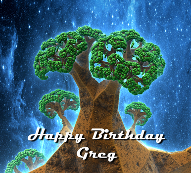 Happy Birthday Greg! by IAmThatStrange