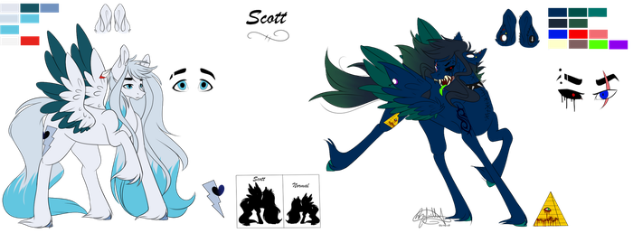 .:Scott Rereference sheet 2018:. by OhFlaming-Rainbow