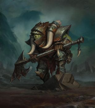 Iron Orc by baklaher