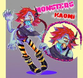 Kaomi monster by BleHc