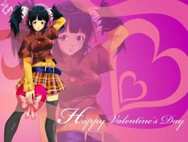 Valentine's Day Wallpaper by Andante2