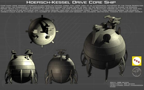 Hoersch-Kessel Drive Core Ship ortho [New] by unusualsuspex