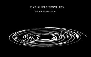 032 water ripples by Tigers-stock