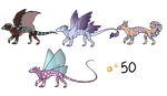 Monster Adoptables - SET PRICE - OPEN by Blithe-Adopts