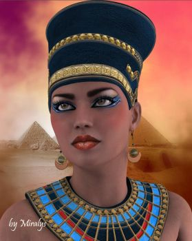 Queen of Egypt by LadyMiralys
