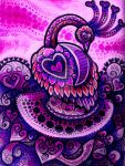 Peacock In Pink (FOR SALE) by HGCreations