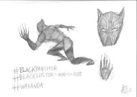 Black Panther by JMK-Prime