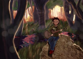 The Forest Music by Saurial