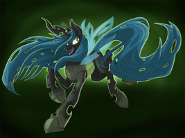 Chrysalis Stream Speed Painting by Zheddel