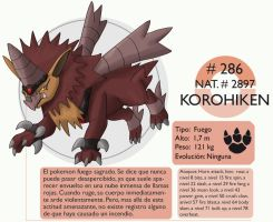Pokemon Oryu 286 Korohiken by shinyscyther