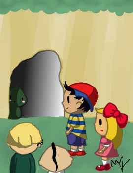 Earthbound Shy Tenda by totallyepicmudkipz