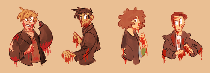 hey youngish blood by misteratomicbomb