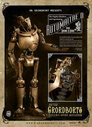 Weta's AutomaitreD by Tim-Gibson