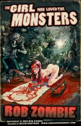 The Girl Who Loved the Monsters by Hartman by sideshowmonkey