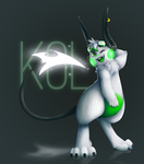 [ Glowing Tails ] Kol by FandomKisses