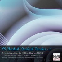 Gradient Brushes v.1 by Hexe78