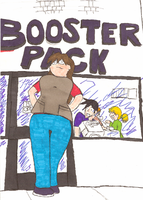 Booster Pack Chapter 1 Cover by AurePeri