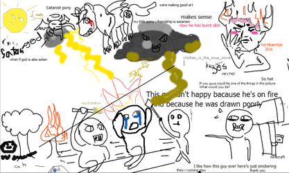 I drew something on Flockmod and this happened by Crazilily