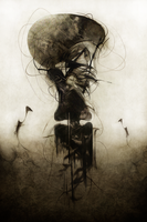 Dweller of the Invisible by TALONABRAXAS
