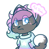 Art (Character) Trade by PixeltyPops