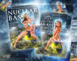 NuclearBASS Party Flyer by LaxDesign
