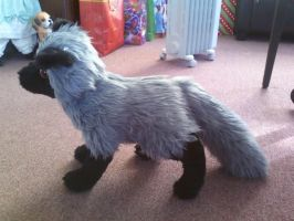 Silver Fox Plush by Gluevah