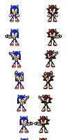 Sonic And Shadow Fusion (REMAKE) by MyPicts