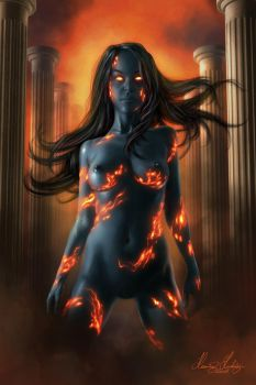 Blue Flame by henning