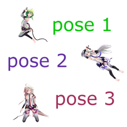 Poses pack download by aicu25