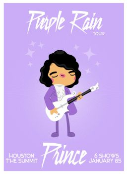 prince hot hot concert promo by WarholFan