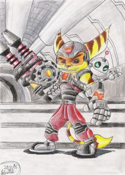 Don't Mess Wit Da Lombax by GraphiteFalcon