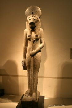 Sekhmet by FairyAndTurtleStock