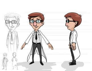 Character Design by jlcomix