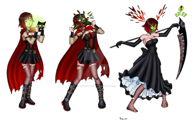 RWBY Transformations favourites by GambitBug on DeviantArt
