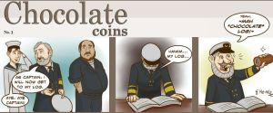 Chocolate Coins 3 - Log by lizzy1e