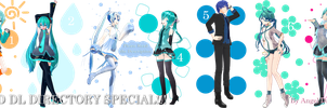 MMD DL Directory 10 Special [+ Pose Pack DL] by Angela-16