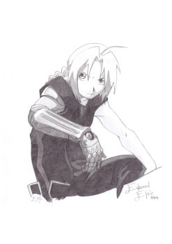 Edward Elric by KjnsArts