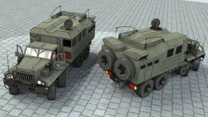 SeAZ-4506 Comm. vehicle by SteamTank