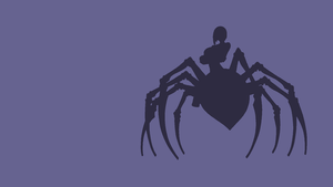 Minimalistic Monster Musume Rachnera Wallpaper by Desertmoongw