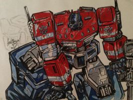 Optimus Prime by zhenderson