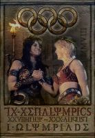 The TX Xenalympics poster by PriestessCharis