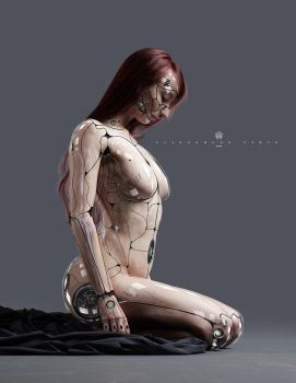 cyborg Advanced level by 35-Elissandro