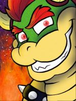 King Bowser by Coksii