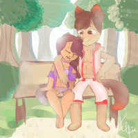 Aarmau thing by xWclfie