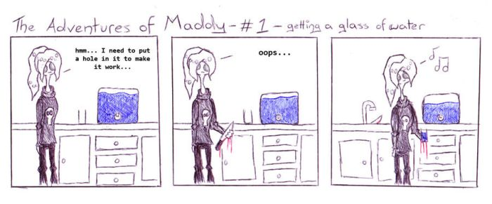 the adventures of maddy - no.1 by FMMBadges