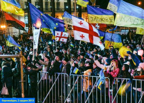 EuroMaidan rallies in Ukraine, Kiev, 2013  24 by mariakovalchuk