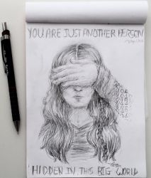 You are just another person by Umbrali