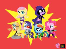PONI TEEN TITANS. by swilkm