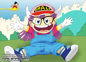 Arale Norimaki by Solicomics