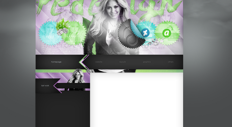 Layout made for me (redesign.blog.cz) by redesignbea